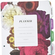 Project Life Bold Planner Pages, 6 by 8-Inch
