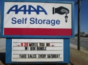 AAAA Self Storage & Moving - Lawrenceville - 282 East Crogan Street