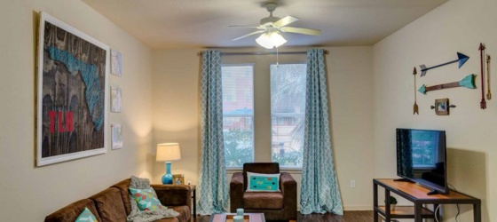 Sub lease Furnished Apt. -Near FSU, TCC, A&M Summer/Fall/Spring Available