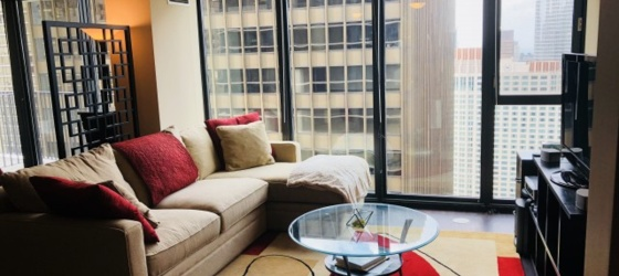 Sublet at Aqua Chicago Lakeshore East (Sep. 2018 thru July 2019)