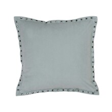 Payton Velvet Square Pillow - Emberglow