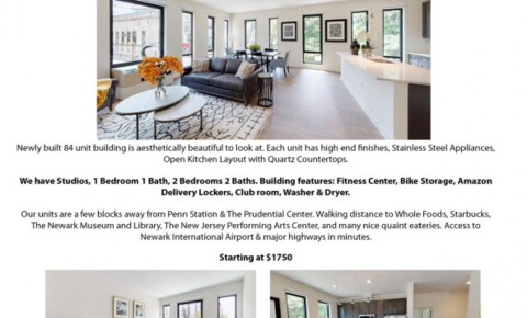 Apartments Near Baruch Luxury Apartments Available in Downtown Newark at 915 Broad Street for Bernard M Baruch College Students in New York, NY