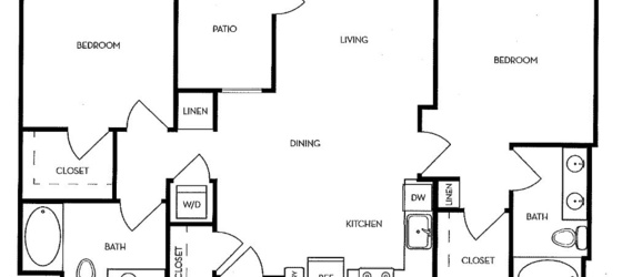 2 bedroom Menlo Park