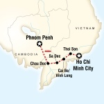 Mekong River Adventure – Phnom Penh to Ho Chi Minh City