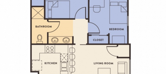 Frassati Newman Hall 2Bedroom/1Bath
