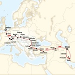 London to Tehran by Rail